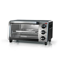 BLACK+DECKER 4-Slice Toaster Oven with Natural Convection