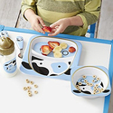 Skip Hop Baby Zoo Little Kid and Toddler Melamine Feeding Bowl