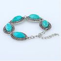 LSENG Turquoise Bracelets Adjustable Bracelet