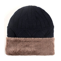 Ssking 羊毛内衬 加厚保暖 毛线帽