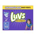 Luvs 婴儿4段纸尿裤(适合10-17kg宝宝)160片