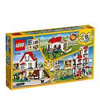 LEGO 3合1家庭别墅家庭大宅
