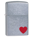 Zippo Red Heart Pocket Lighter