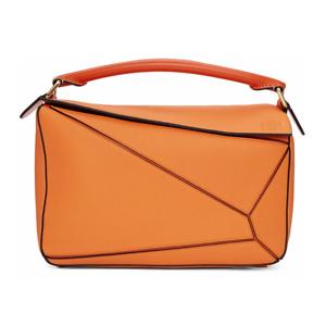 Ssense: 26% OFF on Loewe Orange Puzzle Bag