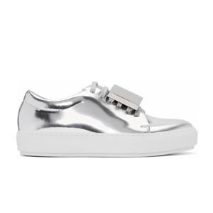 Ssense: 50% OFF on Acne Studios Silver Adriana Sneakers