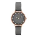 Skagen Women's SKW2267 Anita Grey Leather Watch