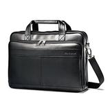Samsonite Luggage Leather Slim Briefcase