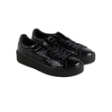 Puma Womens Fenty by Rihanna Black Creeper Wrinkled 36446501 Sneakers Shoes