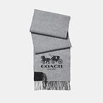 拼色羊绒围巾