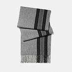 经典条纹围巾