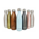 Godinger Stainless Steel Water Bottles 17 Oz.