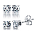 0.25 CTTW Certified I2-I3 Diamond Studs in 14K by DeCarat