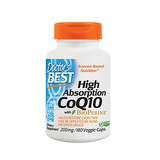 Doctor's Best High Absorption CoQ10 with BioPerine 180ct