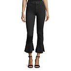 Cropped Bell Flare Jeans
