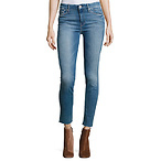 Ankle Fray Denim Jeans