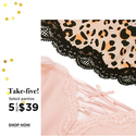 Eve's Temptation:5 For $39 Select Panties