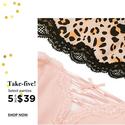 Eve's Temptation:精选女式小裤 5条只要 $39