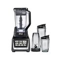 Ninja BL642W 1500W 72Ounce Blender Duo with Auto iQ and Cups