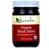 Kevala Organic Black Sesame Tahini 12oz/340g