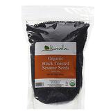 Kevala Organic Toasted Black Sesame Seeds 1lb