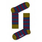 条纹花纹袜子