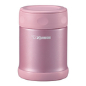 Zojirushi SW-EAE35PS Stainless Steel Food Jar - Shiny Pink