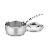Cuisinart Stainless Steel 1-1/2-Quart Saucepan with Cover