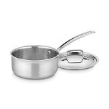 Cuisinart 三层复合锅体不锈钢带盖汤锅