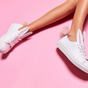 Minna Parikka 20mm Leather Bunny Tail Sneakers