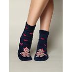 Gingerbread couple socks
