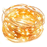 LED String Lights 33 ft with 100 LEDs, TaoTronics Waterproof Decorative Lights