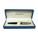 Waterman Expert Black with Golden Trim Fountain Pen