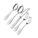 Utopia Kitchen 20 Piece Stainless Steel Flatware Set