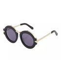 Karen Walker Maze Round Metal Sunglasses