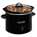 Crock-Pot 2-QT Round Manual Slow Cooker, Black