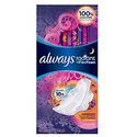 Always Radiant Overnight Feminine Pads with Wings 66ct