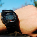 Casio Men's GWM5610-1 G-Shock Solar Watch with Black Band
