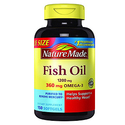 Nature Made Fish Oil 1200 mg w. Omega-3 360 mg Softgels 150 Ct