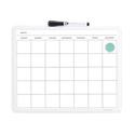U Brands Contempo Magnetic Monthly Calendar Dry Erase Board