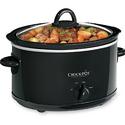 Crock-Pot 4-Quart Manual Slow Cooker, Black