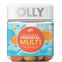 OLLY Essential Prenatal Multi-Vitamin, Vibrant Citrus, 60 Count