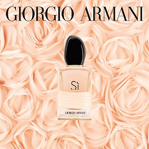 Giorgio Armani: Free 100ml Si Rose Perfume with $200 Purchase