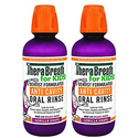 TheraBreath for Kids Anti Cavity Fluoride + Xylitol Oral Rinse 16oz * 2pk