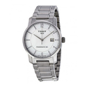 Tissot T-Classic Automatic Silver Dial Titanium Men's Watch