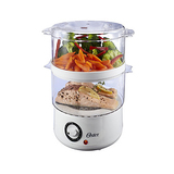 Oster CKSTSTMD5-W 5-Quart Food Steamer - White
