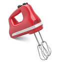 KitchenAid KHM512WM 5-Speed Ultra Power Hand Mixer, Watermelon
