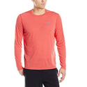 Under Armour Men's Threadborne Siro Long Sleeve T-Shirt, Red/Graphite, Small