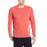Under Armour Men's Threadborne Siro Long Sleeve T-Shirt, Red/Graphite, Small