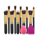 BEAKEY Premium 12pc Kabuki Brush Set
