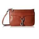 Rebecca Minkoff Skinny Mac with Crossbody Strap, Brown